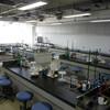 大学見学研究会で化学実習室を公開