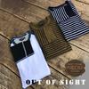 OUT OF SIGHT × スパンフライス7分袖Tシャツ × PUBLIC.HLDの姉妹ブランド