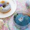 gmgm(ぐむぐむ)さんの焼きドーナツとキレイ色ハーブティー ~GW美味しいもの日記①~