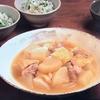 3分クッキング【鶏肉、大根、油揚げの炊き合わせ】【小松菜とじゃこの菜めし】レシピ