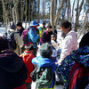 雪上の自然教室
