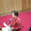 16日、宮川県議が総括審査会質問。川村東電会長や榊原経団連会長の再稼働発言への抗議と撤回を求めても知事は答弁せず。