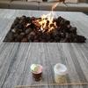 シェラトン・グランデ・オーシャンリゾート マシュマロサービス@焚火のリビング