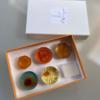 【琥珀菓子ふるる】ロゴデザイン
