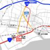 静岡県 国道1号宮島東交差点の渋滞緩和・事故減少対策が完了