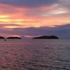 南シナ海の夕陽