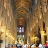 フランス旅「神聖な光に満ちたパリのノートルダム大聖堂!またここに戻ってくる決意をもって」