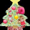 2019年のクリスマス絵♫