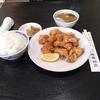 札幌市豊平区平岸 中国料理 珠華飯店 平岸店で鶏のから揚げランチセット