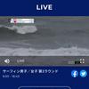台風直撃・・・