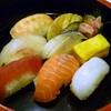 握り寿司にゅう麺付