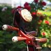 琵琶と牡丹「如来寺」