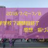 〜語学学校7週間目終了〜 感想・振返り・8週間目への意気込み