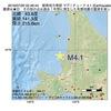 2016年07月20日 02時46分 留萌地方南部でM4.1の地震