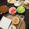 我が家の食卓 タコスパーティー