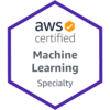 AWS 認定 機械学習 - 専門知識に合格した。