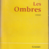 :YVES RÉGNIER『Les Ombres』(イヴ・レニエ『影』)