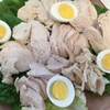 塩麹を加えた超簡単!!しっとり茹で鶏