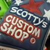 今日もスコッティキャメロンのカスタムが色々なデザインで届けられました。。カバーも独特なので、仕上がりを見るのが楽しみです。。