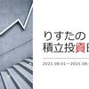 【2021年8月1週】 運用成績報告