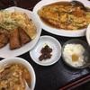 「中国家庭料理 京華」 カニ玉子定食