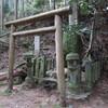 蛇の祟りがある「くつな石」を見に行く 明日香村