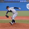 クセのあるフォームのサイドスロー 京都学園大学 川瀬  航作選手 大卒右腕投手