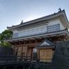 鶴丸城御楼門完成! 門をくぐってきました。