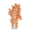 『火だるまになって燃え盛るうさぎさん』