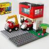 レゴ:消防車と救急車、消防署の作り方 LEGOクラシック10715だけで作ったよ(オリジナル)