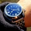今日の時計(SKX007 Ex1 MOD)