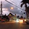 インド・スリランカ・インドネシア旅-13 インドネシア ポロブドゥール遺跡観光