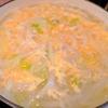 胃に優しい【1食67円】親子キャベツ煮込みうどんの簡単レシピ