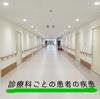 診療科ごとの患者の疾患と看護師の仕事