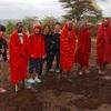 世界一周105日目後編 ケニア(38) マサイマラ国立公園2日目 〜マサイ族の村で一緒に伝統のダンスを踊った日〜