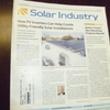 久々に太陽光発電の話