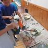6年生:図工 テープカッター完成へ