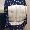 【着物コーディネート帖】つるし雛を見に行くなら、花びらちらしもよう小紋にほっこり米沢織の帯で。