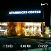 ジョギングとウォーキングの距離を伸ばしてみました。