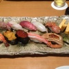 鮨清山。六本木ヒルズのランチ寿司