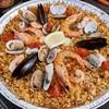 VivaPaella ビバパエリア 【シーザーサラダセット】たっぷり魚介のパエリア