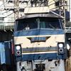貨物列車撮影 12/10 検査から復帰したEF66 27を撮る