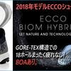 Eccoシューズ2018年新製品が紹介されました。。足の裏が痛い人には持ってこいのクッションソールです。。気持ちいい!!