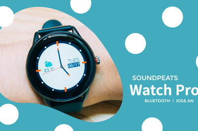 5千円台で買える円形スマートウォッチ。SOUNDPEATS WatchPro1