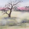 水彩de風景スケッチ 奈良平城宮跡を行く 3