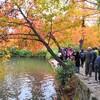 紅葉を見に蘇州天平山に行ったら・・観光客が多すぎ