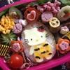 子ども喜ぶ節分のキャラ弁・ケーキ・恵方巻き。