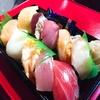 ライブの日に頂く、魅惑のお寿司たち