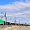 秩父鉄道 熊谷ターミナル出場のホキ石炭貨物の撮影