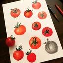 畑の雨、と晴れ。 新規就農1年目、「よしよし畑」の家族の絵日記